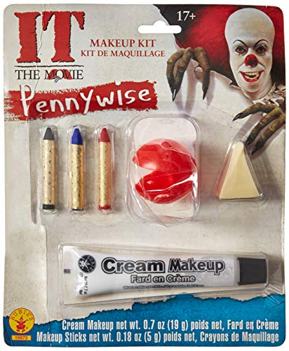 Little Scary Witch Costumes Makeup - Rubie's Men's It Pennywise Adult Make-Up