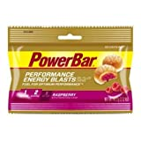 PowerBar Energy Blasts Raspberry Energy Chews, 2.12 Ounce -- 72 per case.