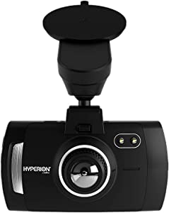 """Hyperion Road Guardian Dash Cam: Front Recording Dash Camera for Cars, Trucks, SUVs - Dashboard Car Camera Drive Recorder with GPS, ADAS, G Sensor, 4"""" 4K HD Video Display, Memory Card - 040-1004-HY-WH"""