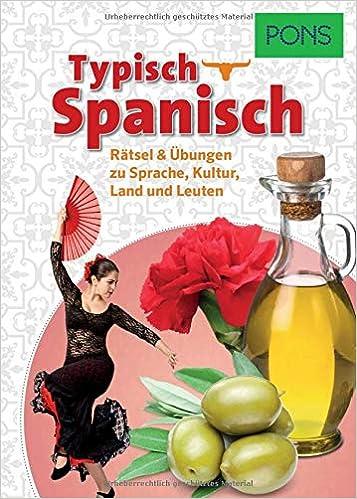 PONS Typisch Spanisch: 9783125629370: Amazon.com: Books