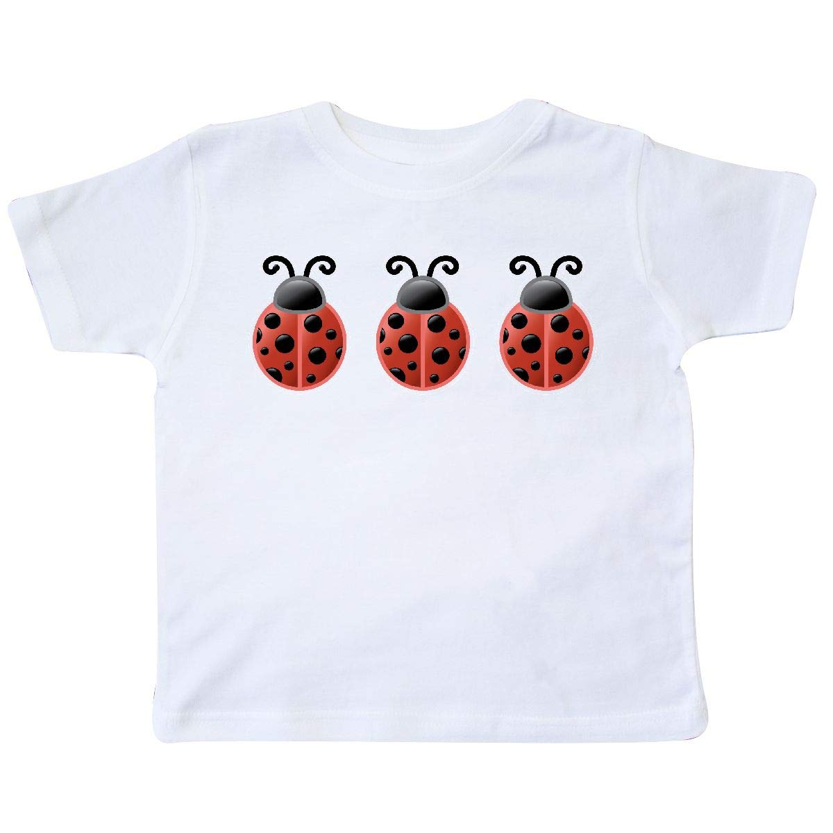 inktastic Ladybug Lover Red and Black Bugs Toddler T-Shirt