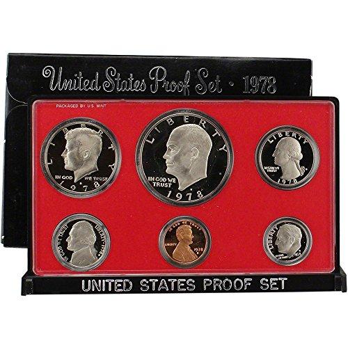 1978 S US Proof Set Superb Gem Uncirculated