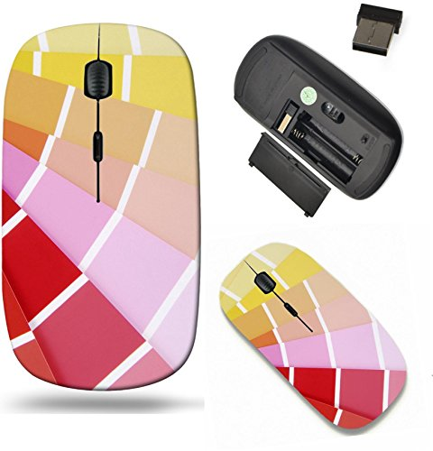 (Liili Wireless Mouse Travel 2.4G Wireless Mice with USB Receiver, Click with 1000 DPI for notebook, pc, laptop, computer, mac book color chart guide sampler Image ID 22933764)