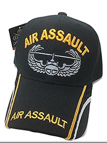 Assault Cap (Military Baseball Cap AIR ASSAULT WITH LOGO BLACK)