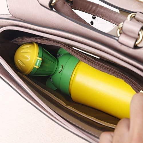ni/ños Inchant Inodoro port/átil para beb/és inodoro de emergencia para viajes en autocaravana y entrenamiento para ni/ños para ir al ba/ño ni/ño orinal