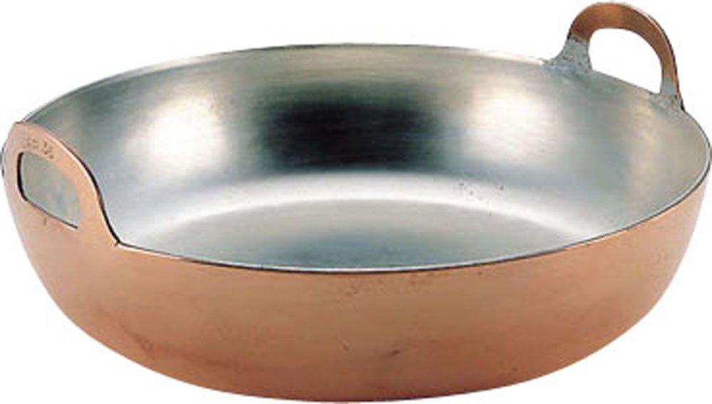 エムテートリマツ 天ぷら鍋 銅製 30cm   B003LPBDYI