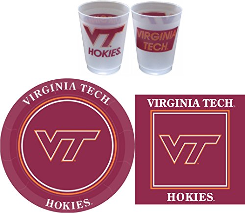 Westrick Virginia Tech Hokies Party Supplies - 81 pieces
