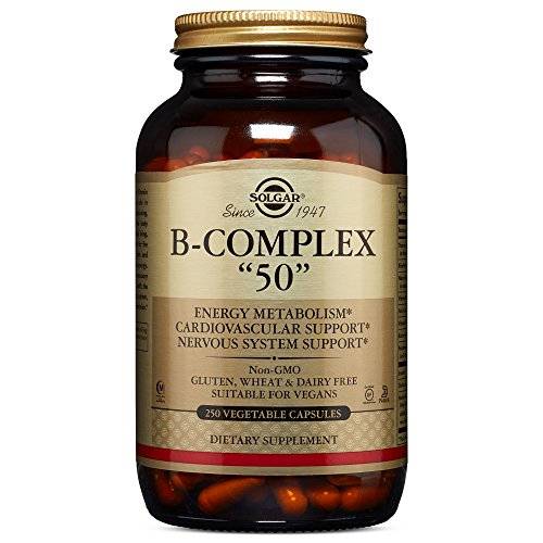 "Solgar – B-Complex ""50"" Vegetable Capsules"