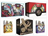 Pokemon Shining Legends Ultimate Trainer's Collection Including Super Premium Collection Ho-Oh, Shining Legends Elite Trainer Box, Zoroark GX Box, and Mewtwo & Pikachu Pin Collection Boxes