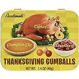 Thanksgiving Gumballs- Turkey, Cranberry, & Pumpkin Pie Flavored Gum