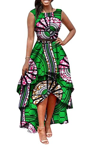 high low african dresses - 2