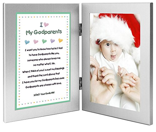 Gift for Godparents - Sweet Godchild Poem from Godson or - Import It All