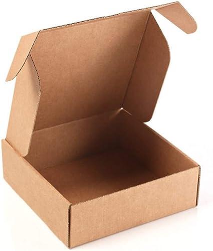 Kartox | Caja de Cartón Kraft Para Envío Postal | Caja de Cartón Automontable para Envío o Almacenaje | 13 x 15 x 4 | 20 unidades: Amazon.es: Oficina y papelería