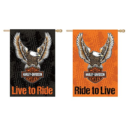 (Harley-Davidson Double Sided Eagle Garden)