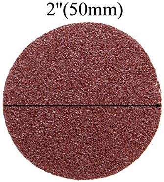 Chenxi Shop 50/pcs 50/mm 5,1/cm 40 5000/Grain abrasif Sable Disques abrasifs polissage Pad papier abrasif
