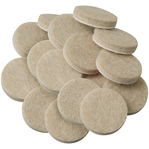 Self-Stick Furniture Round Felt Pads for Hard Surfaces