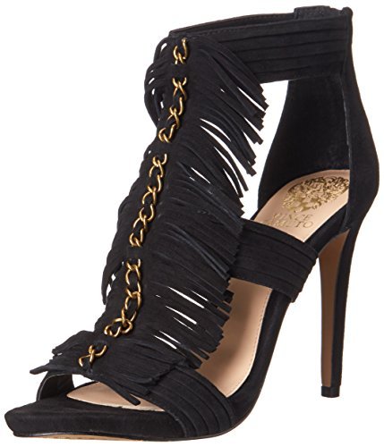 Vince Black Fuller Sandal Women's Camuto Dress HYTBrHq