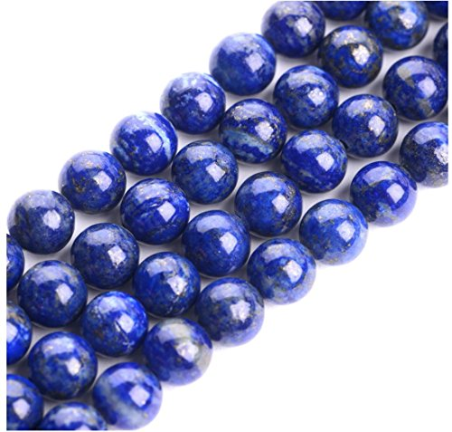 ral Lapis Lazuli Gemstone Loose Round Beads 6mm Spacer Beads (15.5
