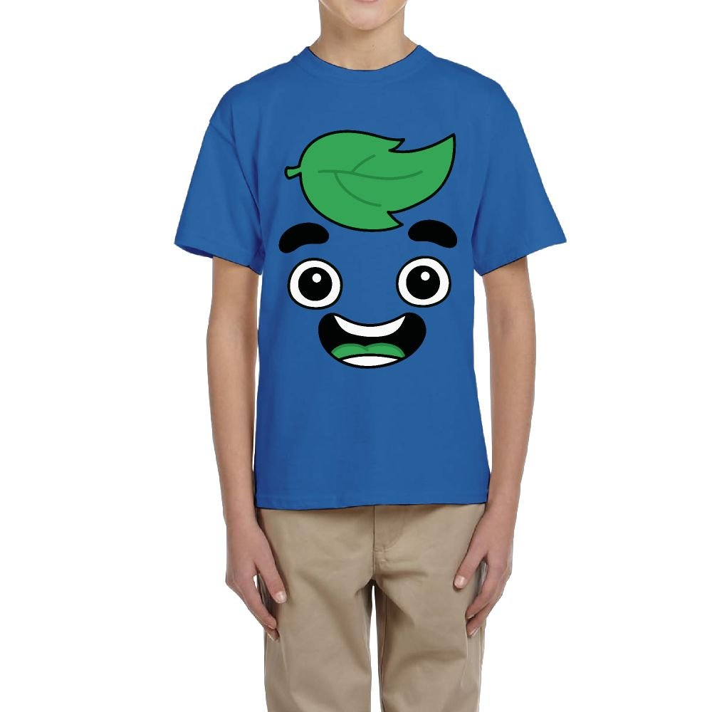 Gua-v-a Juice Cotton Short Sleeve T-Shirt Tee Top Blouse for Youth Kids Boys and Girls