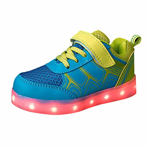 Price comparison product image DoGeek Led Shoes, Led Light up Shoes Toddles, Boys, Girls Kids 7 Colors Light(Choose One Size up)