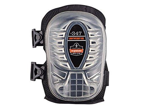 Proflex Knee Gel Pads (Ergodyne ProFlex 347 Long Cap Lightweight Gel Knee Pads, Black)