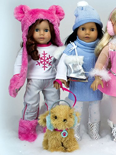 2 Piece Sophia/'s DRSP-SF Snowflake T /& Snowboard Pants 18 Inch Doll Clothes Fits American Girl Dolls Doll Ski or Snowboard Outfit