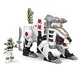 Fisher-Price Imaginext Power Rangers White Ranger and Tiger Zord