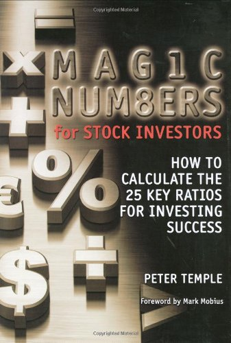 Magic Numbers for Stock Investors: How To Calculate the 25 Key Ratios for Investing Success Pdf