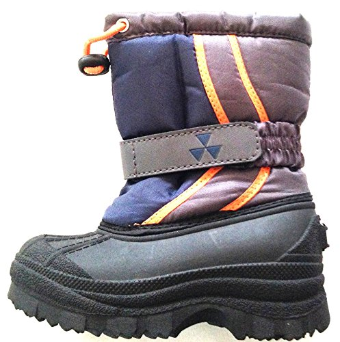 Ozark Trails Boys Winter Boots Navy//Grey