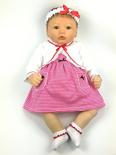 AVANI DOLL ''Crystal'',Lifelike Reborn Baby Dolls Realistic Vinyl Baby Dolls,20 inch Handmade Weighted Baby Dolls That Look Real