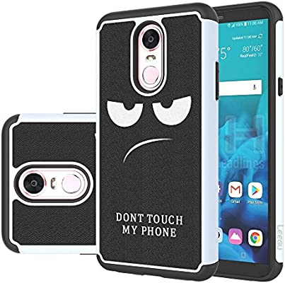 cheaper a43a3 9c761 LG Stylo 4 Case, LG Q Stylus Case, LG Stylo 4 Plus Case, LEEGU [Shock  Absorption] Dual Layer Heavy Duty Protective Silicone Plastic Cover Rugged  Phone ...