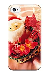 Premium Protection Holiday Christmas Case Cover For Iphone 4/4s- Retail Packaging