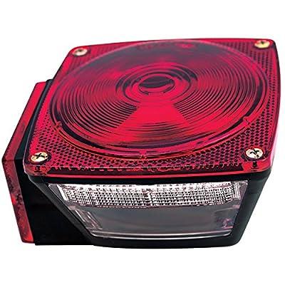 Kaper II 1T-V-1015-L-NEW Red Trailer Stop/Turn/Tail Light: Automotive