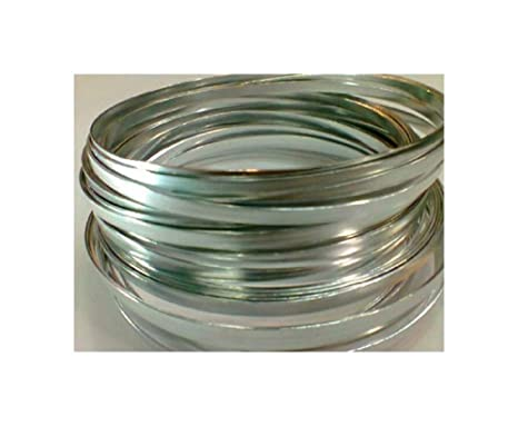 Flat Silver Wire 32ft LX 3/16in W on