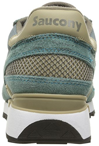 Saucony Shadow Original, Zapatillas para Hombre Verde (Balsam)