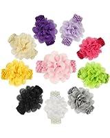 ROEWELL® Baby's Headbands Girl's Hair Bows Newborn headband Hair Flower