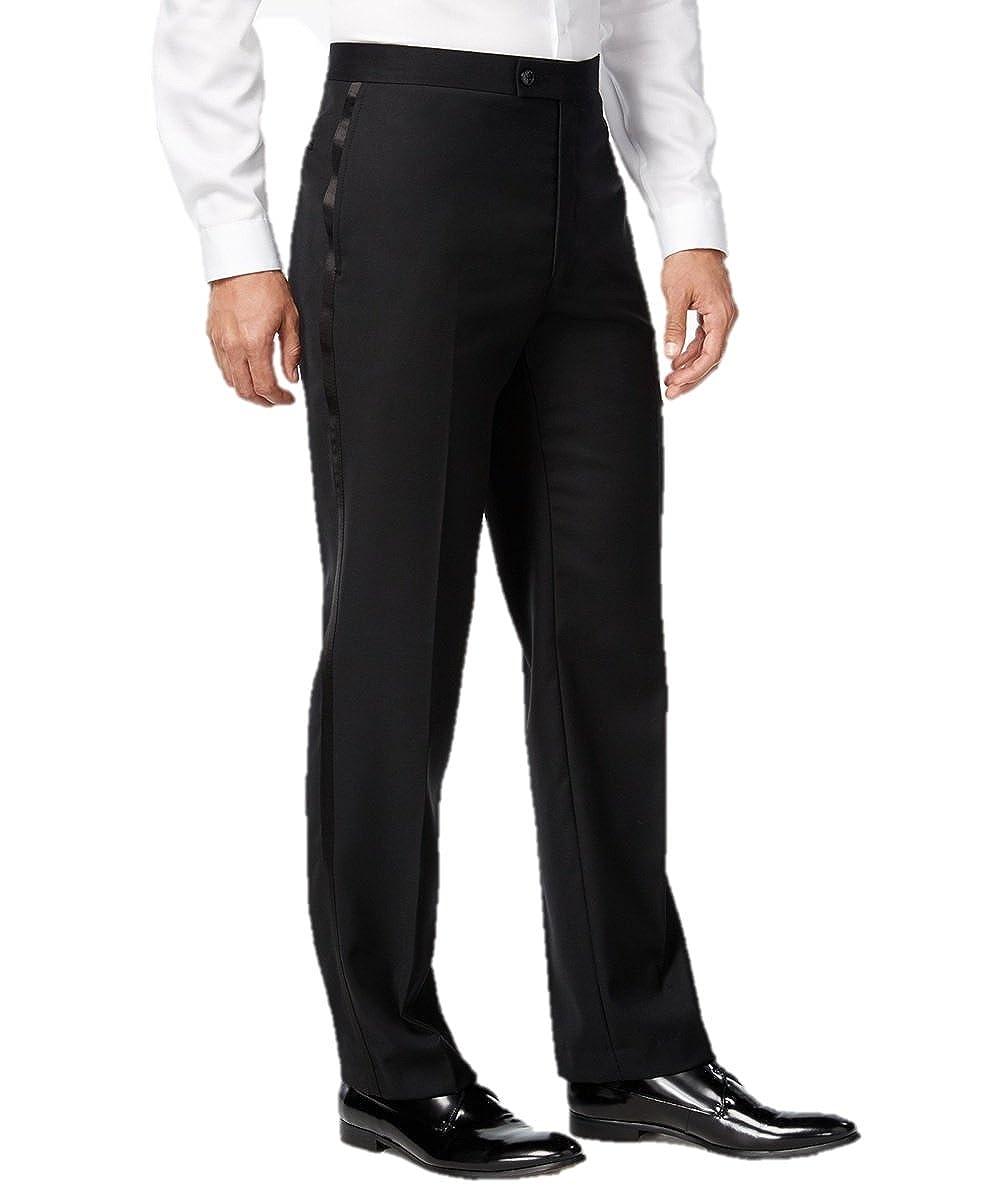 New Vintage Tuxedos, Tailcoats, Morning Suits, Dinner Jackets Elaine Karen Premium Tuxedo Pants for Men- Flat Front - Comfort Fit - Expandable Waist $39.99 AT vintagedancer.com