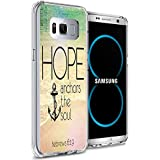 Galaxy S8 Plus Case, Samsung Galaxy S8 Plus Viwell TPU Soft Case Rubber Silicone Quotes Hope anchors the soul