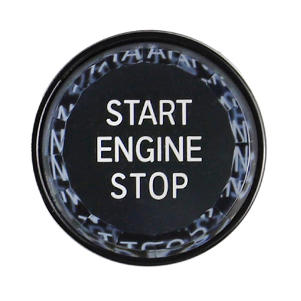 Semine Carbon Motorstarttastenabdeckung f/ür BMW E90 E92 E93 3er