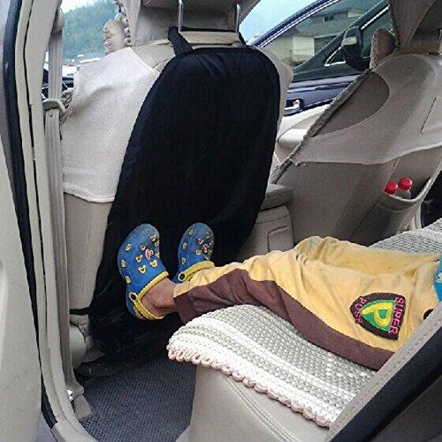 INION® Satz– 1x Rückenlehnenschutz Sitzschoner Sitzschutz Rückenlehnen schütz Rücksitzschutz schützt gegen Kinderfußabdrücken, Nässe, Matsch uvm. Sitzschoner + 2x Stück KFZ Autobirnen T10 Sockel 12Vol