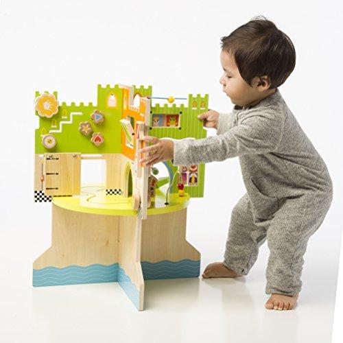 51%2BoBaNod4L - Manhattan Toy Storybook Castle Wooden Toddler Activity Center