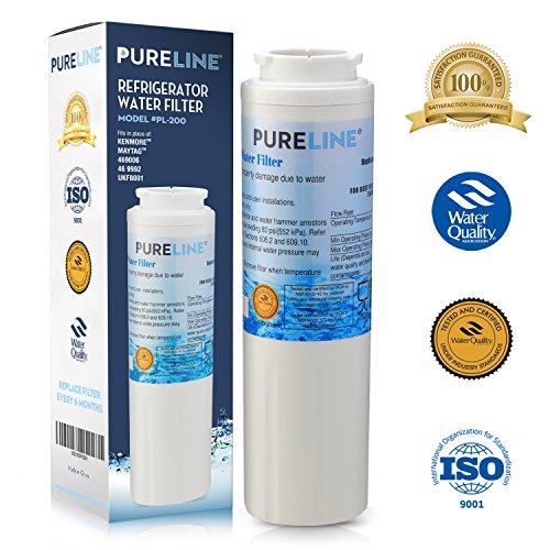 Maytag UKF8001 PUR Fast Flow Water Filter Replacement UKF8001AXX, EDR4RXD1, Whirlpool 4396395, Puriclean II, Kenmore 9006 By Pure Line (Maytag Replacement Filter)