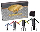Kit King - Rod Seal Install Tool Set - 5 Piece Hydraulic U-Cup Twistor Installation Tool Set