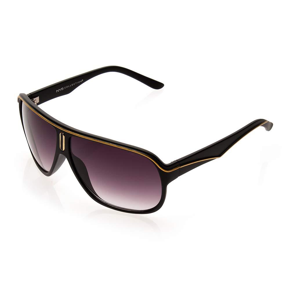 7b50e87487 NYS Collection Kane Street - anteojos de sol (plástico), color negro y  naranja: Amazon.com.mx: Ropa, Zapatos y Accesorios