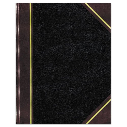 (Rediform Texhide Cover Record Books with Margin - 500 Sheet(s) - Thread Sewn - 8 3/4