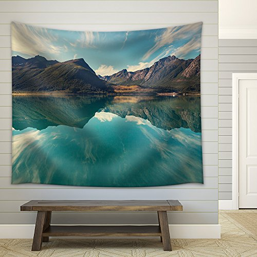 Svartisen Glacier in Norway Fabric Wall