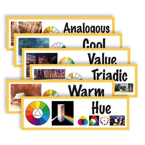 American Educational Products CP1826,''Art Display Cards-Color'' Set, Pack of 20 Sets