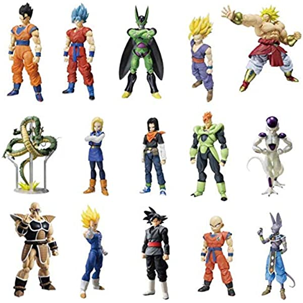 Bandai Dragon Ball Super Dragon Stars Serie 6 Set Complet En stock