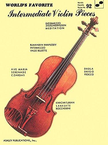 Violin Ensemble Pieces - Intermediate Violin Pieces: World's Favorite Series #92