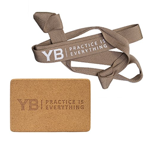 Bundle - 2 Items: Cork Yoga Block | YOGABODY Original